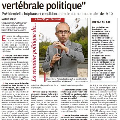 Parole Politique de Lionel Royer-Perreaut