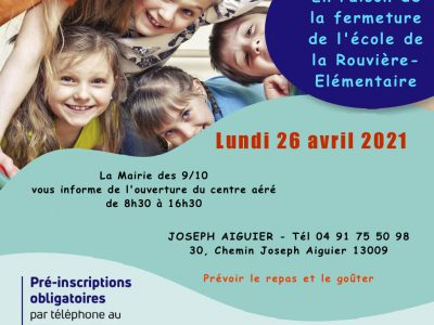 ouverture CA 26 avril